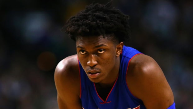 Pistons rookie Stanley Johnson: 'No one is scared' of Durant, Thunder -- IMAGE