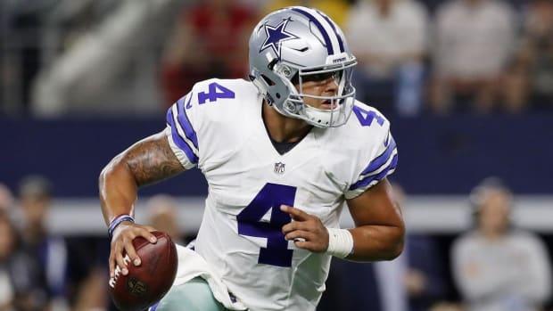 Dak Prescott joins exclusive company in Cowboys win over Eagles - IMAGE