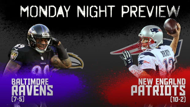 Monday Night preview: Ravens vs. Patriots IMAGE