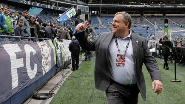 Seattle Sounders GM Garth Lagerwey