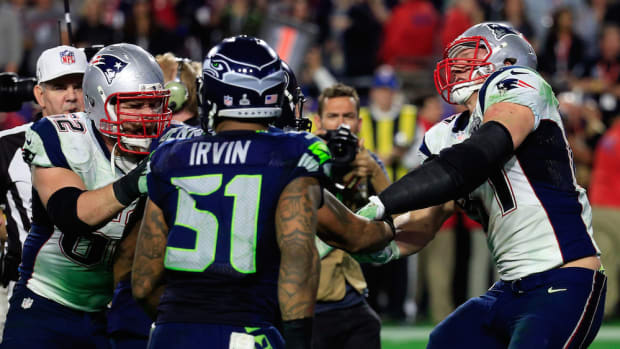 super bowl 2015 fight seahawks patriots