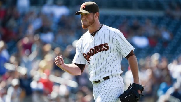 Boston Red Sox acquire closer Craig Kimbrel from San Diego Padres -- IMAGE
