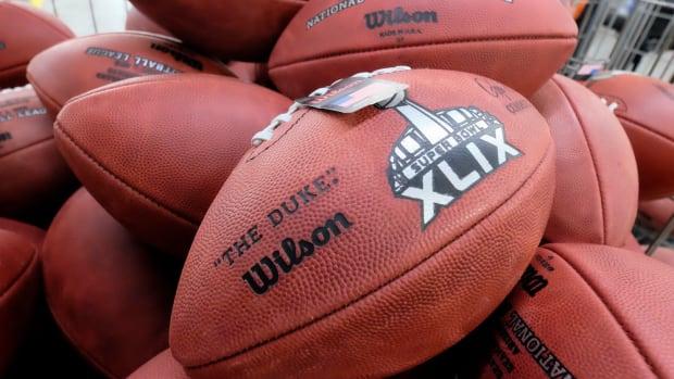 super bowl xlix footballs