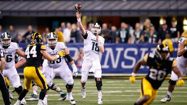 Armed with confidence: Connor Cook has heard all the questions, and he plans to answer in the Cotton Bowl
