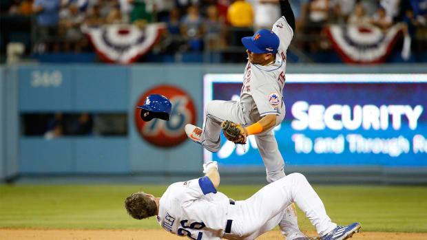 Dodgers' Chase Utley slide injures Mets' Ruben Tejada
