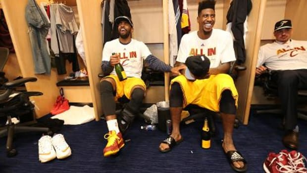 Cavaliers' Kyrie Irving, Iman Shumpert could return soon--IMAGE