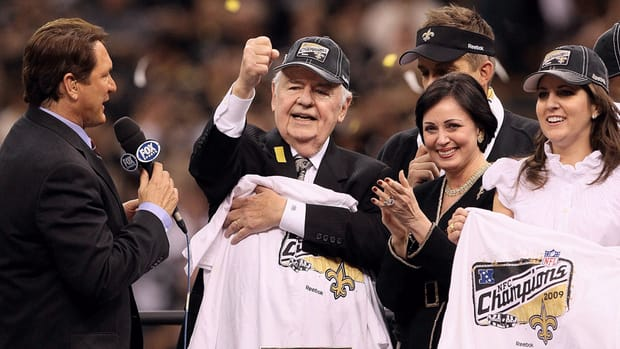 Benson family claims Tom Benson incompetent to control Saints