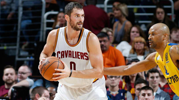 Kevin Love announces he will re-sign with Cavaliers IMAGE