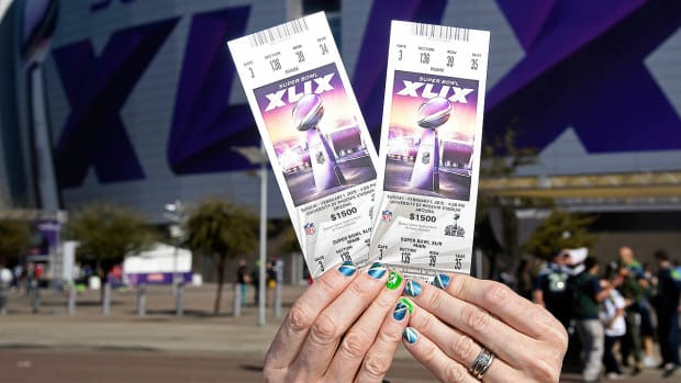 How the frenzied NFL market created a $10,000 Super Bowl ticket - Image