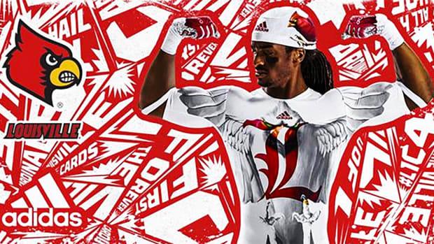 University of Louisville unveils new uniforms-- IMAGE