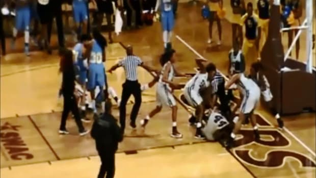 Massive women's college basketball brawl leads to 15 suspensions