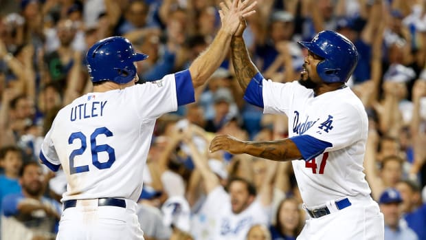 Los Angeles Dodgers defeat New York Mets in Game 2 of NLDS - IMAGE
