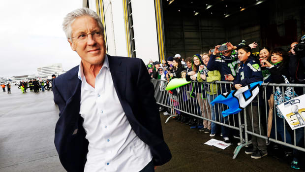 Pete Carroll appears on Today Show: 'Play won't define me'