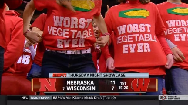 Wisconsin fans corn worst vegetable
