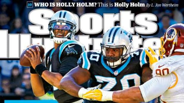 Panthers QB Cam Newton lands SI cover - IMAGE