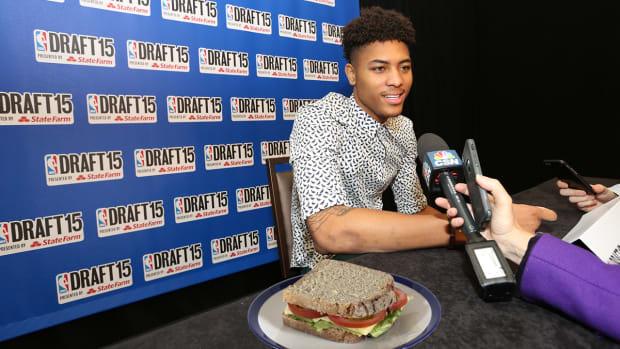 NBA draft prospects favorite sandwich IMG