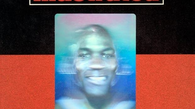 Michael Jordan's Holographic 1991 Sports Illustrated cover