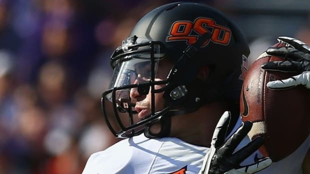 Small in stature, but not in presence, David Glidden continues to shine for Oklahoma State