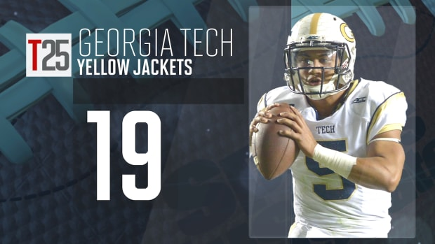 2015 college football preseason Top 25: Georgia Tech Yellow Jackets, No. 19 IMG