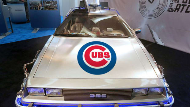 cubs world series auto museum contest delorean