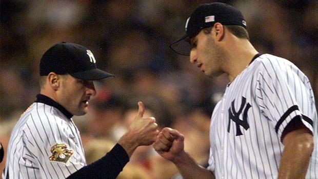 Chuck Knoblauch Andy Pettitte New York Yankees