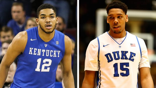 Jahlil Okafor vs. Karl-Anthony Towns: Who will be the No. 1 pick in the NBA draft? - Image