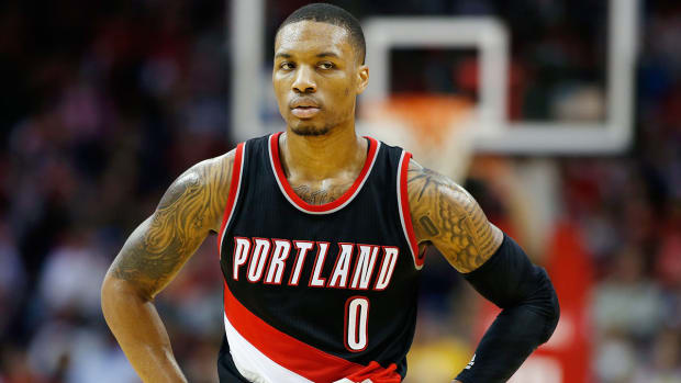 Damian Lillard, Trail Blazers agree to max extension IMAGE
