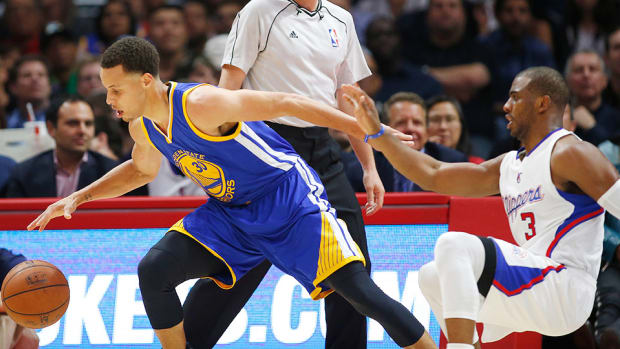 Steph Curry Warriors Chris Paul Clippers 960