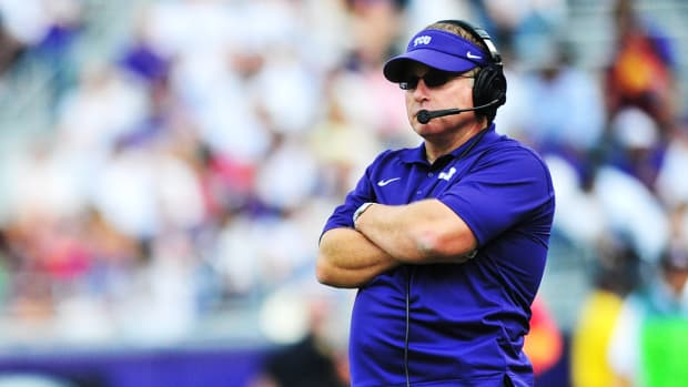 TCU coach Gary Patterson favors expanding playoff to six teams