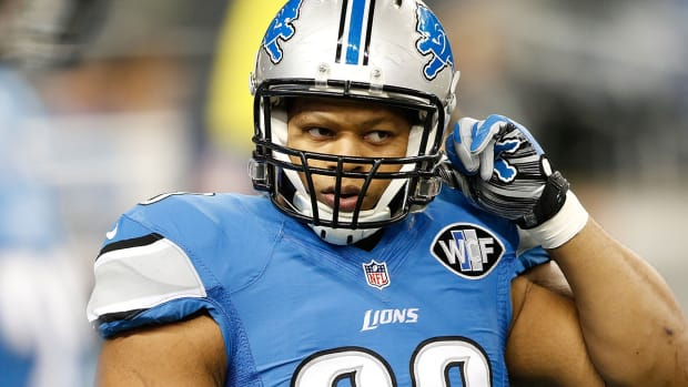 Lions will not place franchise tag on Ndamukong Suh