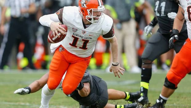 After sitting out 2014 with a hip injury, Matt Johnson is mastering Bowling Green's high-flying offense