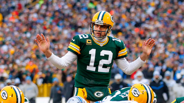 aaron rodgers calf not concerned
