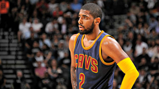 Kyrie Irving Spurs