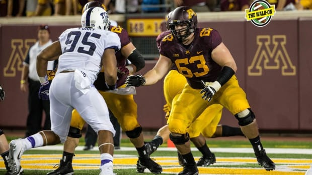 With Ivy League brains and old-fashioned tastes, Minnesota center Jon Christenson is a throwback
