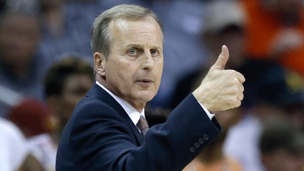 Rick Barnes fired Texas basketball coach steve patterson