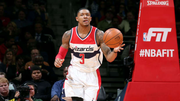 wizards bradley beal stress reaction