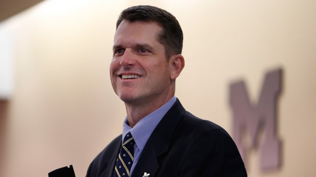 jim harbaugh michigan football commitments