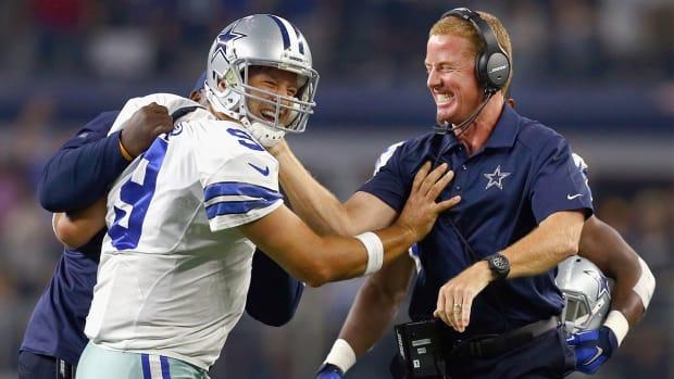 Romo, Cowboys use last-minute heroics against Giants - IMAGE