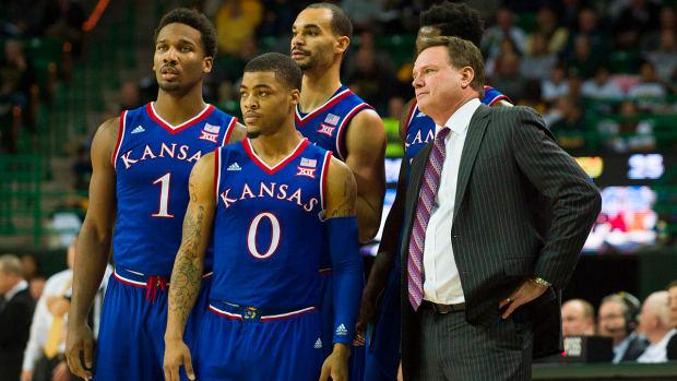 Kansas clinches 11th consecutive Big 12 regular season title IMAGE