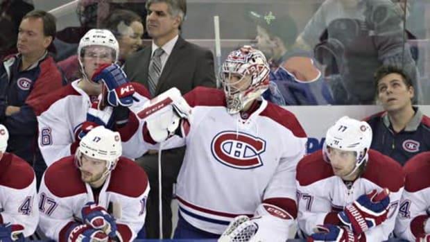 Canadiens goalie Carey Price to miss at least 6 weeks--IMAGE