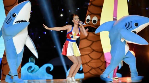 Katy Perry's Left Shark revealed in SportsCenter commercial