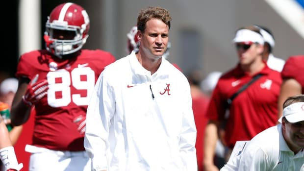 The reinvention of Lane Kiffin: Alabama's coordinator has learned from his past mistakes; Punt, Pass & Pork