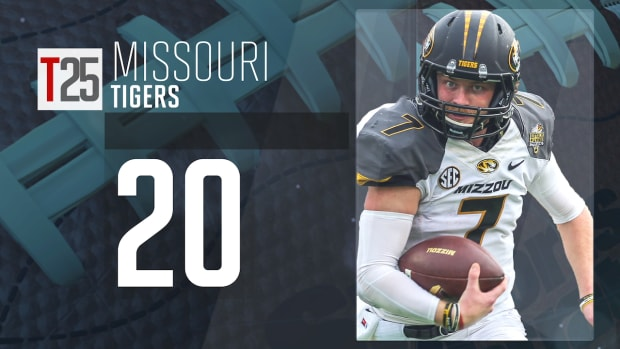2015 college football preseason Top 25: Missouri Tigers, No. 20 IMG
