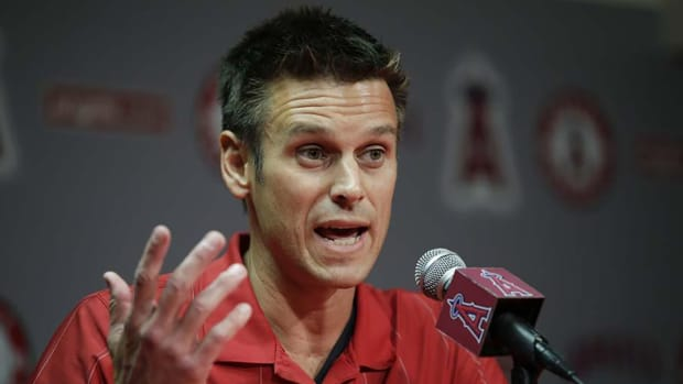Report: Jerry Dipoto 'definitely out' as Angels general manager-- IMAGE