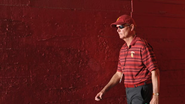 pat haden usc college football playoff committee meeting
