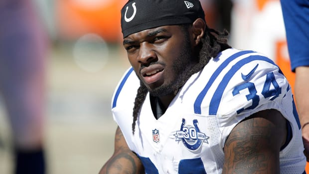 Report: Tensions escalating between Colts, Trent Richardson IMAGE