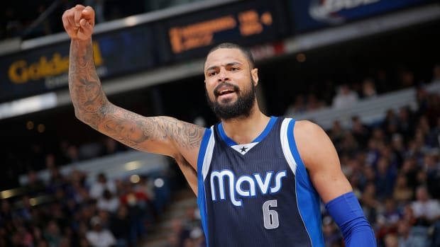 Report: Tyson Chandler, Phoenix Suns agree to four-year deal IMAGE