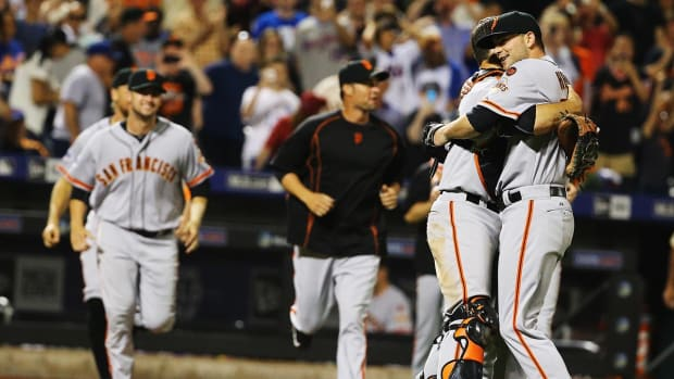 Giants' Chris Heston throws no-hitter against Mets IMAGE