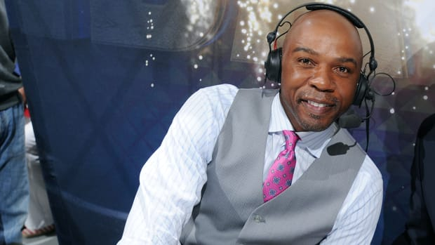 Greg Anthony suspended after arrest for soliciting a prostitute - image