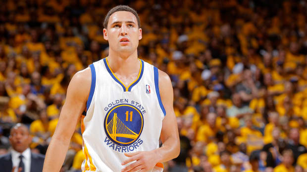 Klay Thompson (ankle) out 7-10 days IMAGE